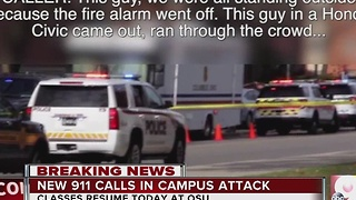 New 911 calls released from OSU attack - Video