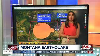 5.8 Earthquake rocks Montana - Video