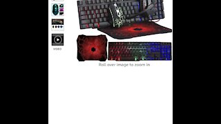 Gaming Keyboard and Mouse and Mouse pad and Gaming t RX-250
