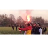 Sunday League Football in North London Has Its Own Ultra Supporters - Video