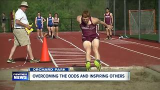 O.P. runner overcomes the odds & inspires others - Video