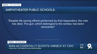 Contractor dies at CDO High School after accidental shooting