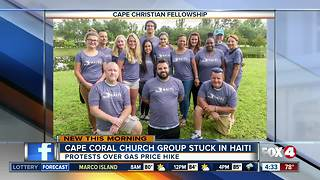 Cape Coral Church Group stuck in Haiti during unrest