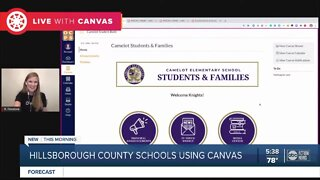 Hillsborough School District switches to Canvas for online learning platform