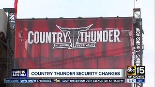 "Country Thunder adopts ""clear bag"" security policy"