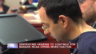 Sentencing hearing continues for ex-doctor Larry Nassar - Video