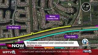 Neighbors concerned over construction noise - Video