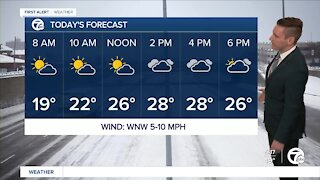 Metro Detroit Forecast: Warmest day in two weeks