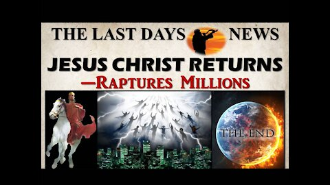 Sound The Alarm! Jesus is Coming! Jesus is Coming!