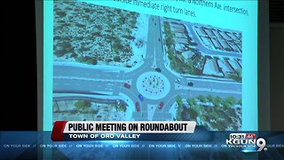 Oro Valley holds public meeting on roundabout