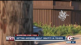 Graffiti in Fishers concerns neighbors - Video