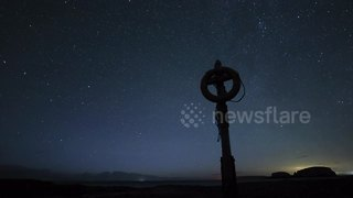 Time-lapse video captures Perseid meteor shower over night sky of Northern Ireland - Video