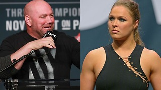Dana White Wants Ronda Rousey to Stay AWAY from UFC - Video