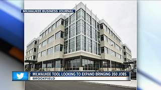 Milwaukee Tool to expand, bring in jobs - Video
