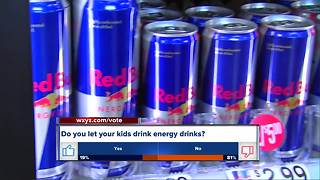 Do you let kids drink energy drinks? - Video
