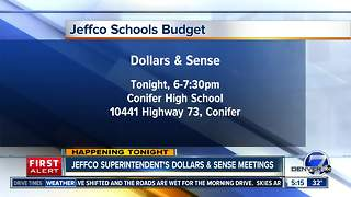 JeffCo Schools inviting public to talk about budget - Video