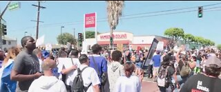 Protests against police brutality continue