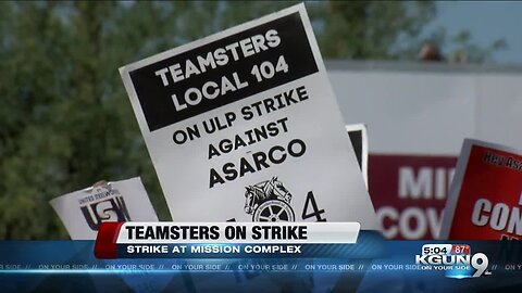 ASARCO Teamsters strike over work conditions, benefits, pay