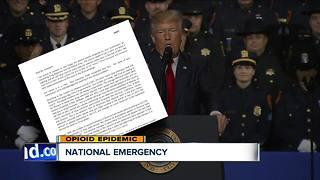 Commission asks President Trump to declare national emergency - Video