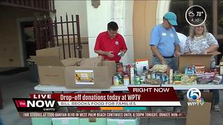All-day Bill Brooks' Food for Families food drive today at WPTV - Video