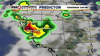 Higher Rain Chances Sunday - Video