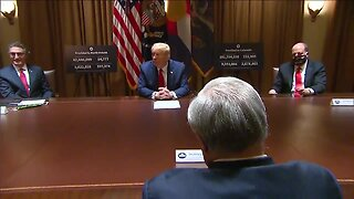 Full video: Colorado Gov. Jared Polis meets with President Trump to discuss COVID-19 response