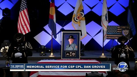 Final call for Colorado State Patrol Corporal Daniel Groves