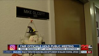 Kern County Fair holds first meeting since Kern County District Attorney's investigation and audit