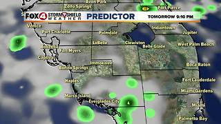 Warm, Storms Possible Sunday - Video