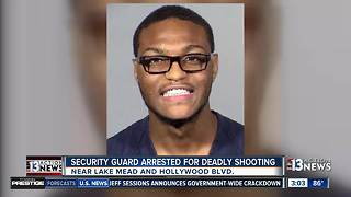 Security guard arrested for deadly shooting - Video