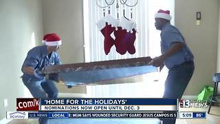 Home for the Holidays program from Walker Furniture is underway