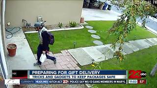 Tricks to keep packages safe during the holiday season - Video