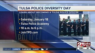 """First ever """"Diversity in Policing"""" recruiting event with TPD"""