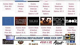 Arizona Restaurant Week: Here's what it is all about - Video
