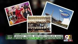 Advice for your next vacation: Slow down - Video