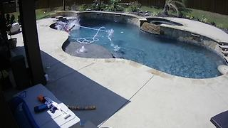 Swimming Pool Cleaning Fail - Video