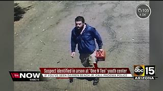 Suspect ID'd in arson at One N Ten youth center - Video