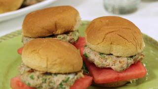Red, White, & Blue Cheese Sliders with Watermelon - Video