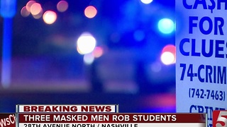 2 Students Robbed While Walking Back To Campus