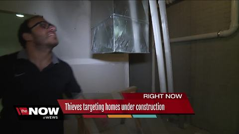 Thieves targeting Ohio City homes under construction