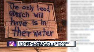 Picture mocking Flint water crisis crosses the line - Video