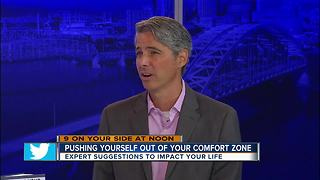 Pushing yourself out of your comfort zone - Video