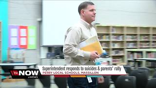 ONLY ON NEWS 5: Superintendent addresses multiple suicides, after parents rally for their kids