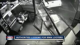 Deputies looking for suspects who crashed into business with stolen truck - Video