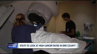 State looks at high cancer rates in Erie County - Video