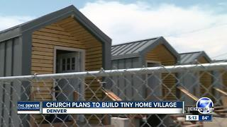 Church plans to build tiny home village - Video