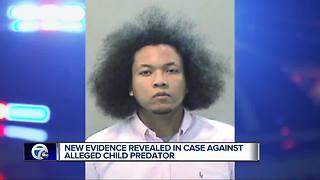 New evidence revealed in case against alleged child predator - Video