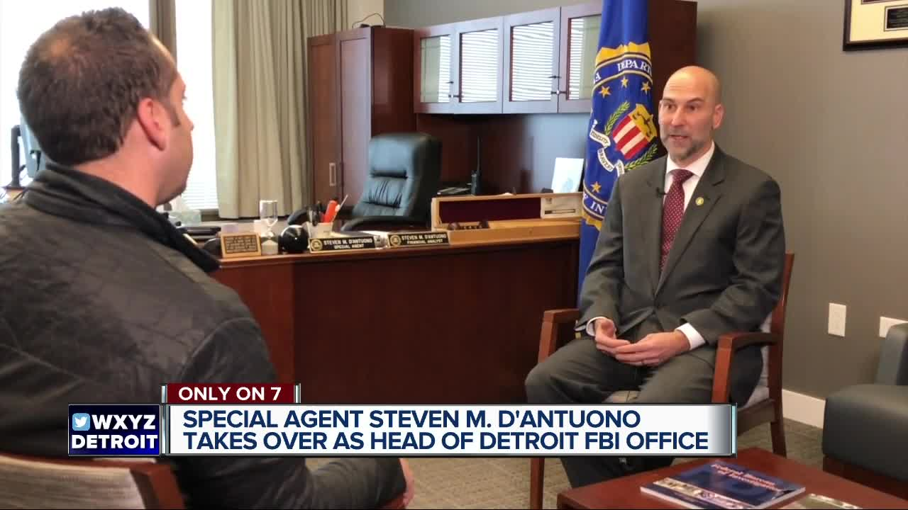New FBI Detroit Special Agent in Charge shares goals for the bureau