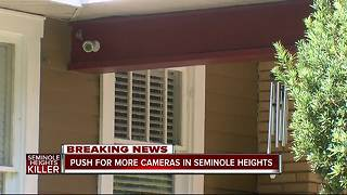 New push for more cameras in Southeast Seminole Heights following fourth murder - Video