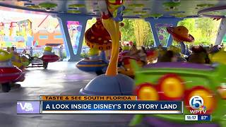 PREVIEW: Disney World's new Toy Story Land - Video